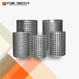 Perforated Pleated / Plat Lubang